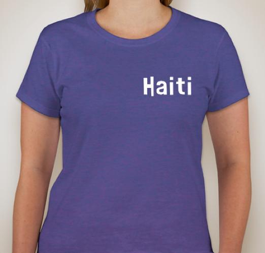 HAITI t-shirt, ring-spun cotton.  Sizes L-XXL.  Price includes shi