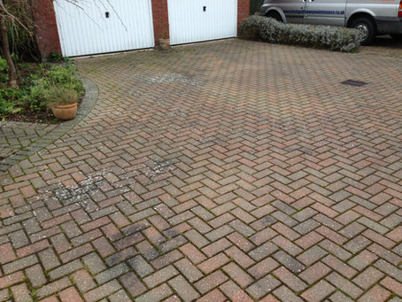 Block Paved Driveway Cleaning Cambridge