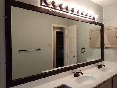 Dark Stained Wood Mirror Frame.jpg