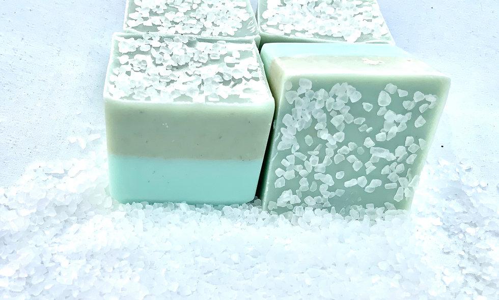 Sandy Beach Soap Cube