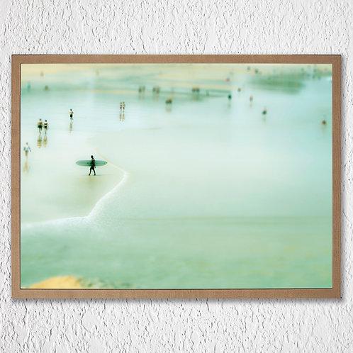 Scène de Plage 70x50cm- Framed