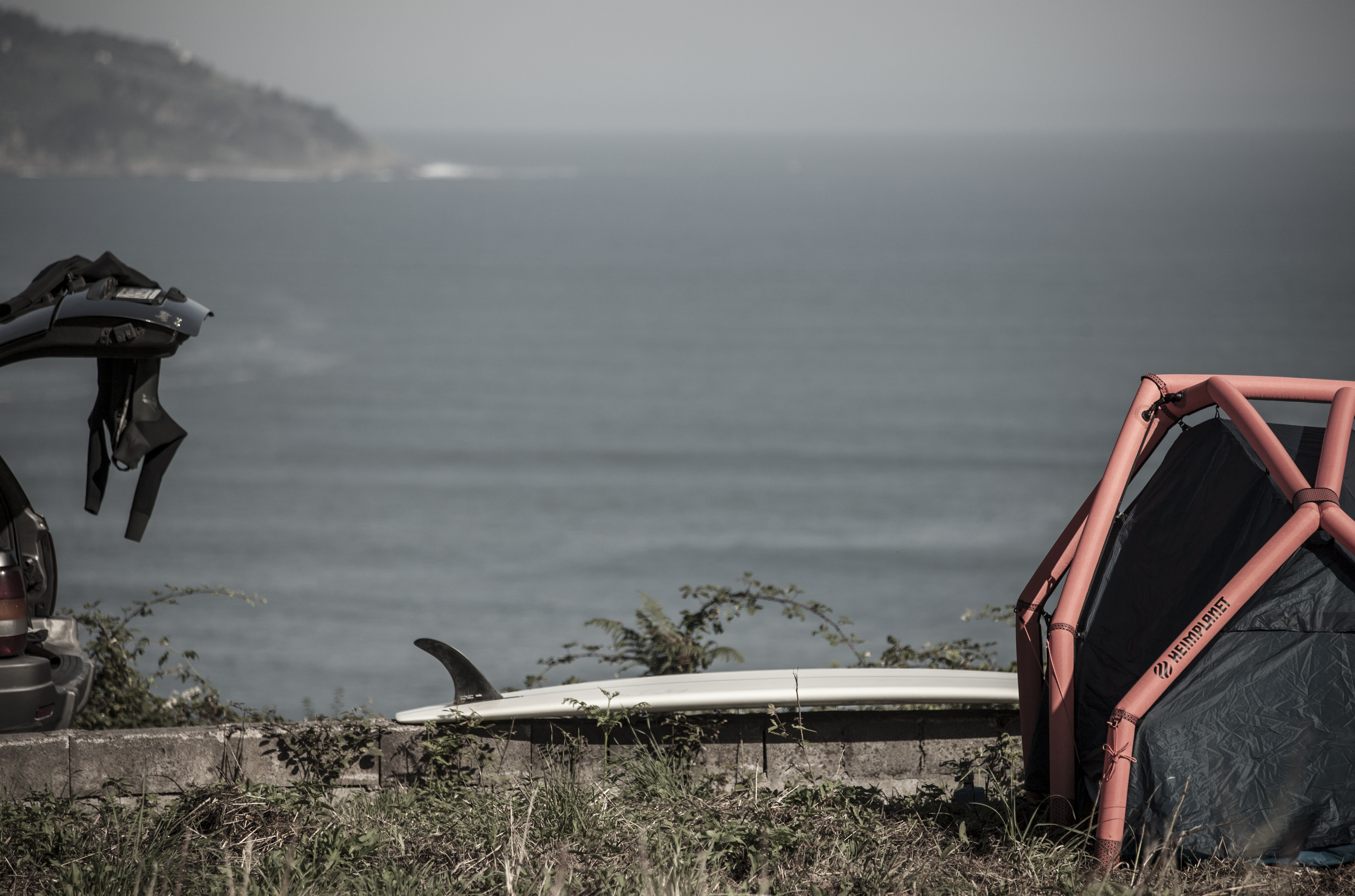 Luc Rolland Surf / Heimplanet Tents