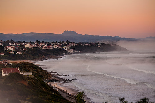 Sunrise in Guéthary