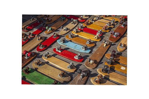 Daniel's Skateboard Collection #10 - 45x30cm - Matte Photo Paper