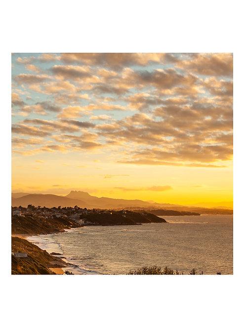 Basque Sunset