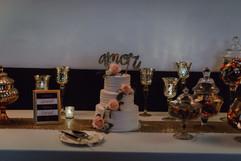 Wedding sweets table