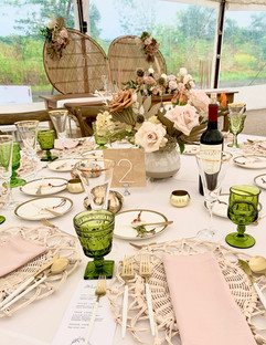 Aces Event Planning Boho Wedding
