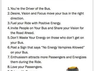10 Rules For the Ride of Your Life!