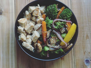 CHICKEN WITH COCONUT OIL