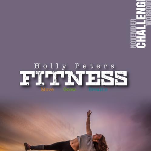 November Challenge Workout Program