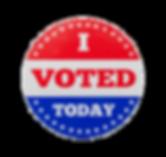 i-voted-today-sticker-round-sitcker-isol