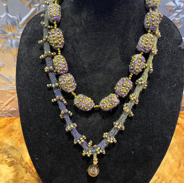 Necklace designed by Anne Stewart