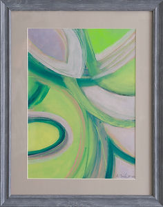 Abstract Lime  Leaves