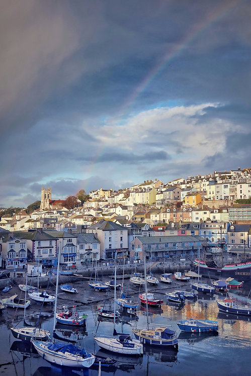 Brixham Harbour Rainbow