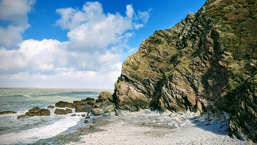 Heddon's Mouth Beach