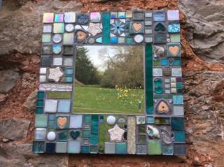 Small Square Mirror