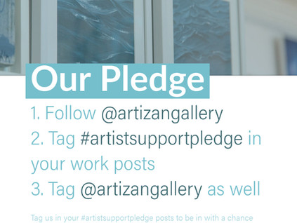 Investing in Our Artists #ArtistSupportPledge