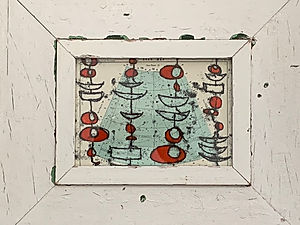 Red Buoys, Boats and the Stars II (2018)