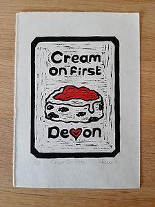 Cream On First