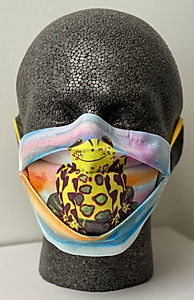 Rose Elliot Frog Masks