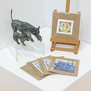 Sue Coleman Original Art Cards
