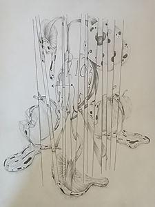 Mushrooms In Broken Glass