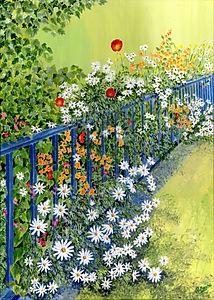 Flowers on the Bridge