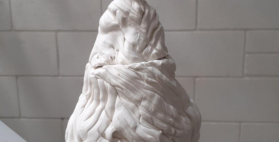 Porcelain Kurinuki Jar - Large