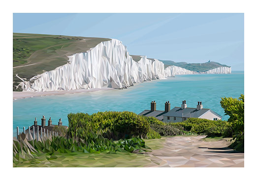 Seven Sisters East Sussex UK