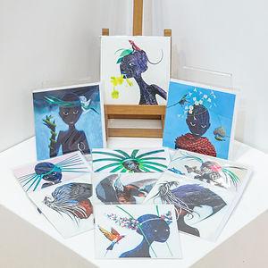 Fine Art Cards - Animals of Geoff Weedon