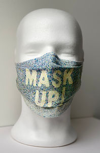 Rose Elliott 'Mask Up' Wear Me'
