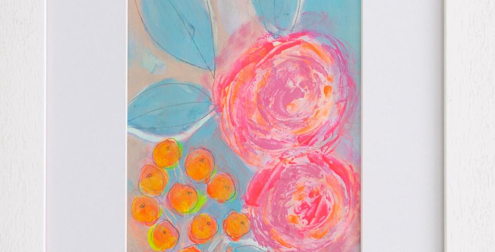 2 Bright Roses