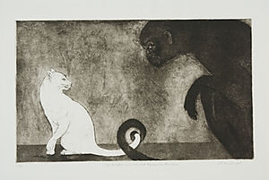 The Monkey and the White Cat