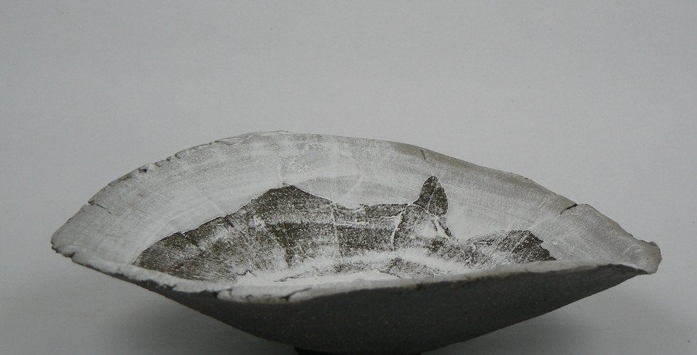 Earthfast - Black Stoneware Medium Bowl
