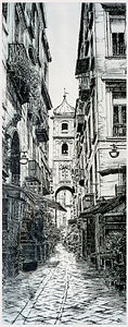 The Street Of Sacred Objects, Naples
