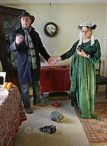 An Allegory of Modern Marriage (after Jan van Eyck)