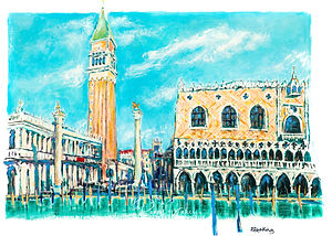 Venice St Marks Square