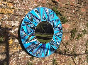 Stained Glass Mirror