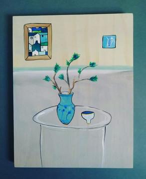 Pine Branch Ikebana