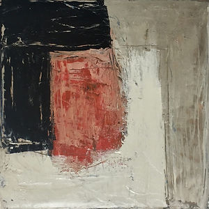 Small Red/Black Abstract #3