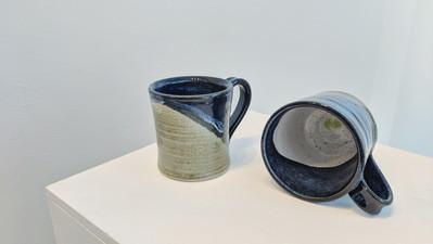Blue and Green Mugs