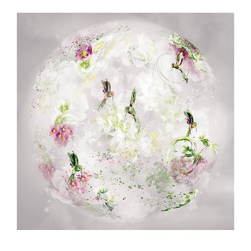 Hummingbirds - Floral Spheres