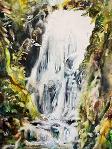Canonteign Falls.