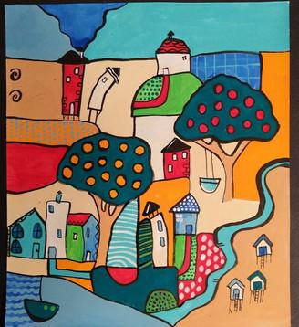 Colourful Village 3