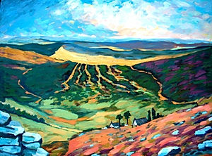 Dartmoor from Grimspound