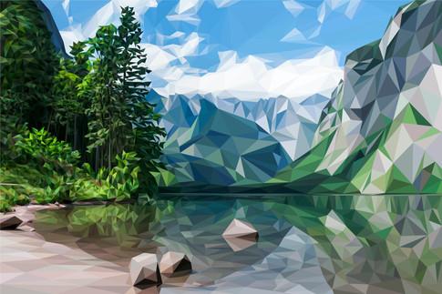 Lake Obersee, Bavaria, Germany