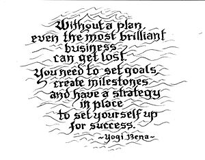 Goals - Plan