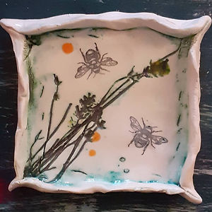 Bee Trinket Dishes
