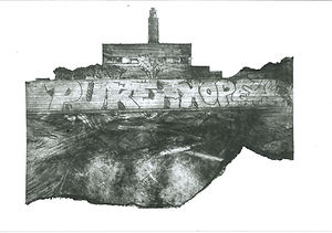 RAF Upwood Graffiti