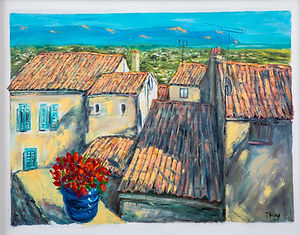 South of France Rooftops
